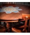 میز ناهارخوری پنج نفره چوب و کاشی 106K